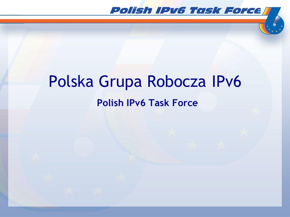 Polska Grupa Robocza IPv6 Polish IPv6 Task Force