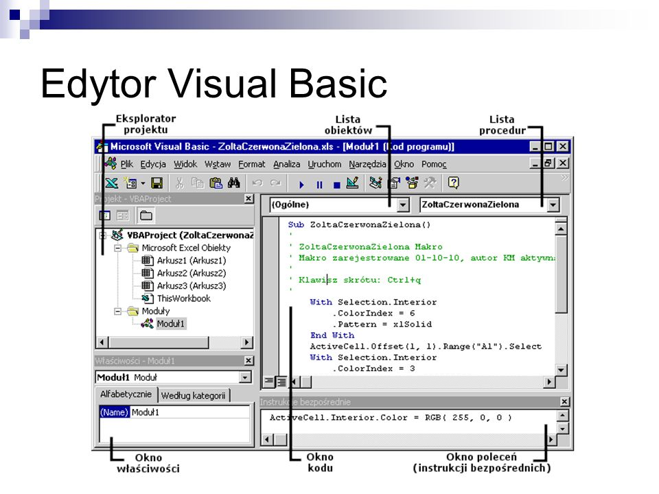 Edytor Visual Basic
