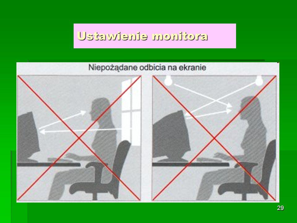 28 Ustawienie monitora