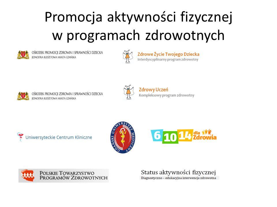 Promocja aktywności fizycznej w programach zdrowotnych