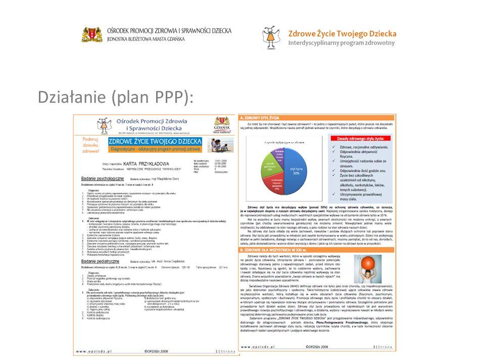 Działanie (plan PPP):