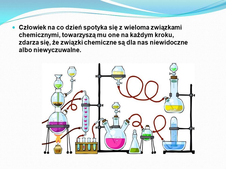 Człowiek na co dzień spotyka się z wieloma związkami chemicznymi, towarzyszą mu one na każdym kroku, zdarza się, że związki chemiczne są dla nas niewi
