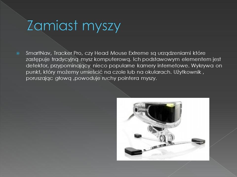  Komputery dla niewidomych – mówiące komputery wyposażone w syntezatory mowy, programy udźwiękowiające, ubrajlawiające i lektorskie.