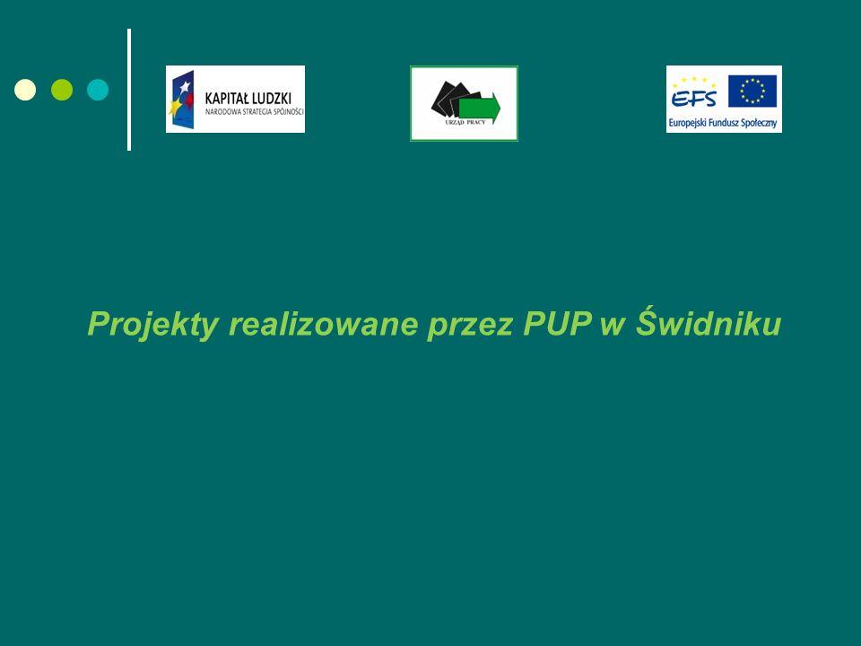 Projekty realizowane przez PUP w Świdniku
