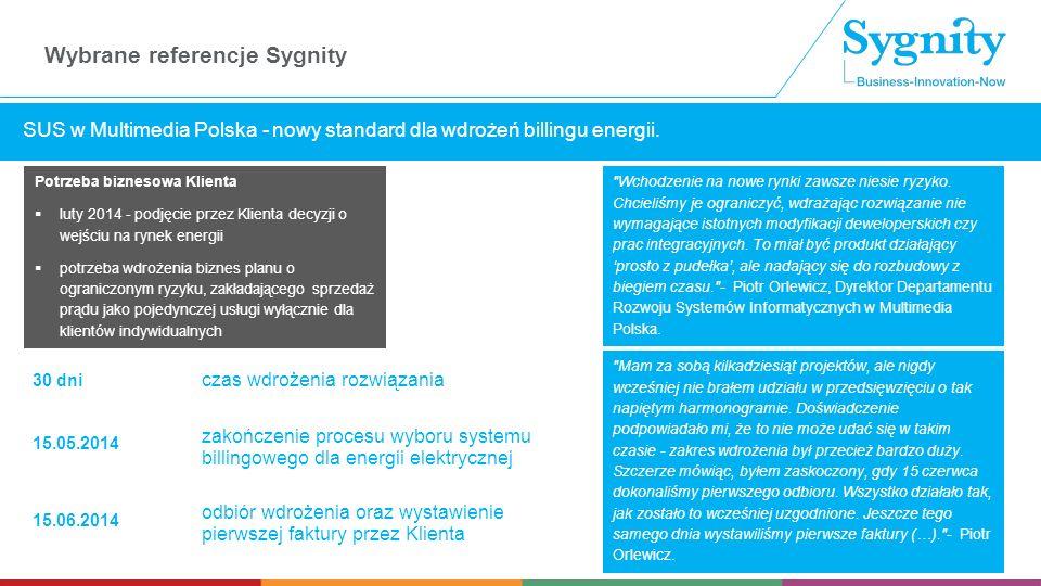SUS w Multimedia Polska - nowy standard dla wdrożeń billingu energii.