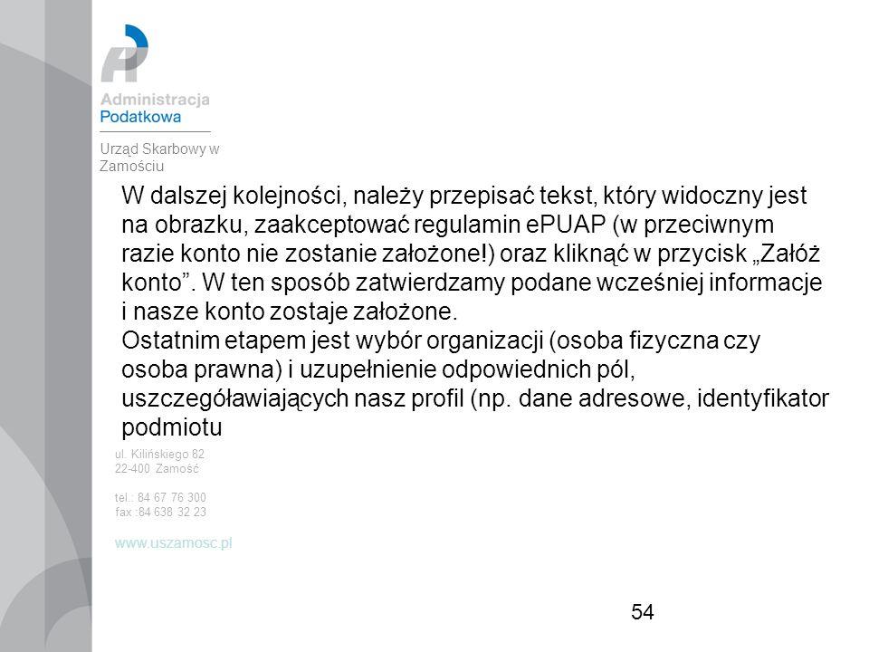 """54 W dalszej kolejności, należy przepisać tekst, który widoczny jest na obrazku, zaakceptować regulamin ePUAP (w przeciwnym razie konto nie zostanie założone!) oraz kliknąć w przycisk """"Załóż konto ."""