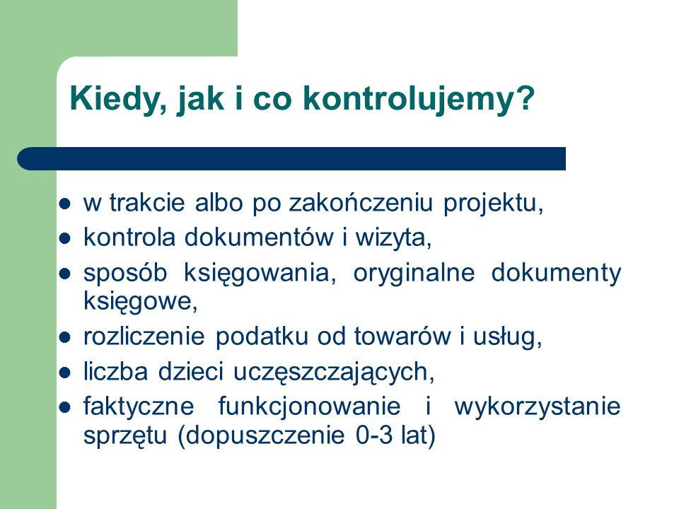 sprawozdanie = rozliczenie, najpóźniej do 15 stycznia 2015 r., formularz – załącznik nr 2 do umowy, załączniki: potwierdzenia przelewów, raporty kasowe, dokumenty potwierdzające wniesienie opłat przez rodziców, zestawienie dotyczące obecności dzieci i opłat rodziców http://www.katowice.uw.gov.pl/wdzzfe/Maluch_2014_- _III_modul.html Jak się rozliczamy?