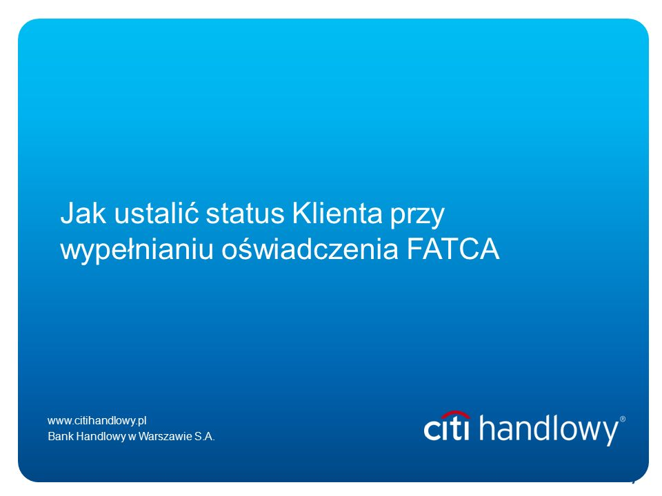 Paweł Zegarłowicz January 08, 2016 Poland – new Government, key changes in the media and officially available analysis www.citihandlowy.pl Bank Handlowy w Warszawie S.A.