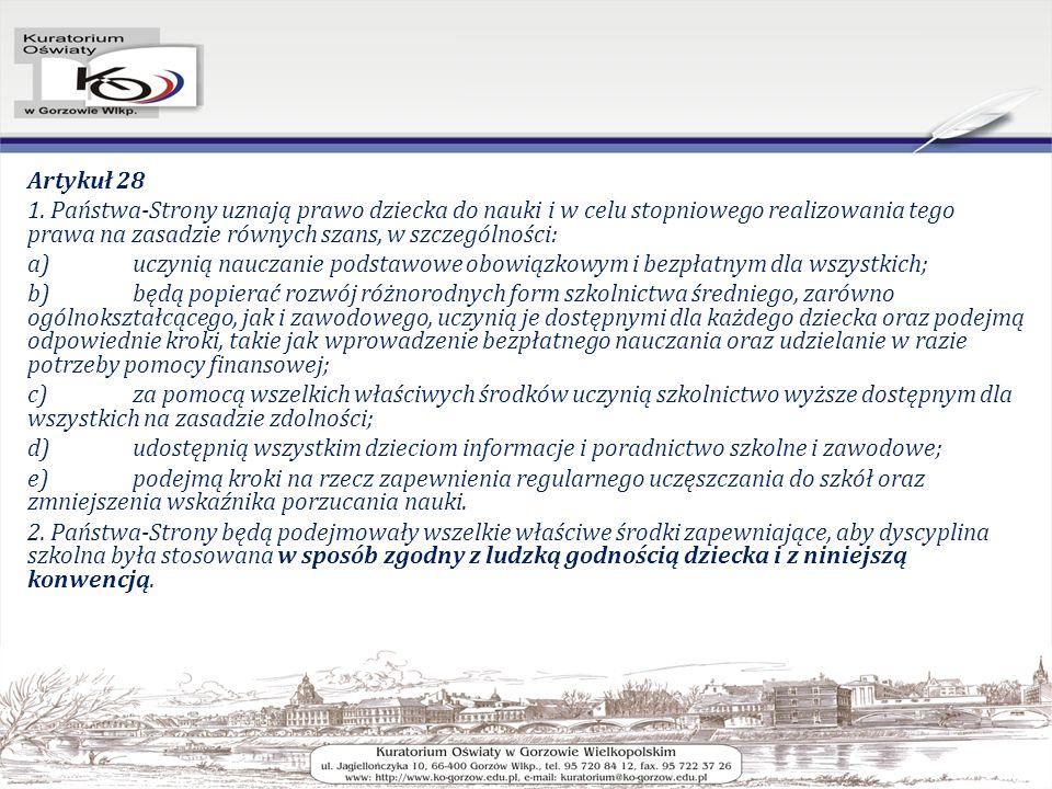 Artykuł 28 1.