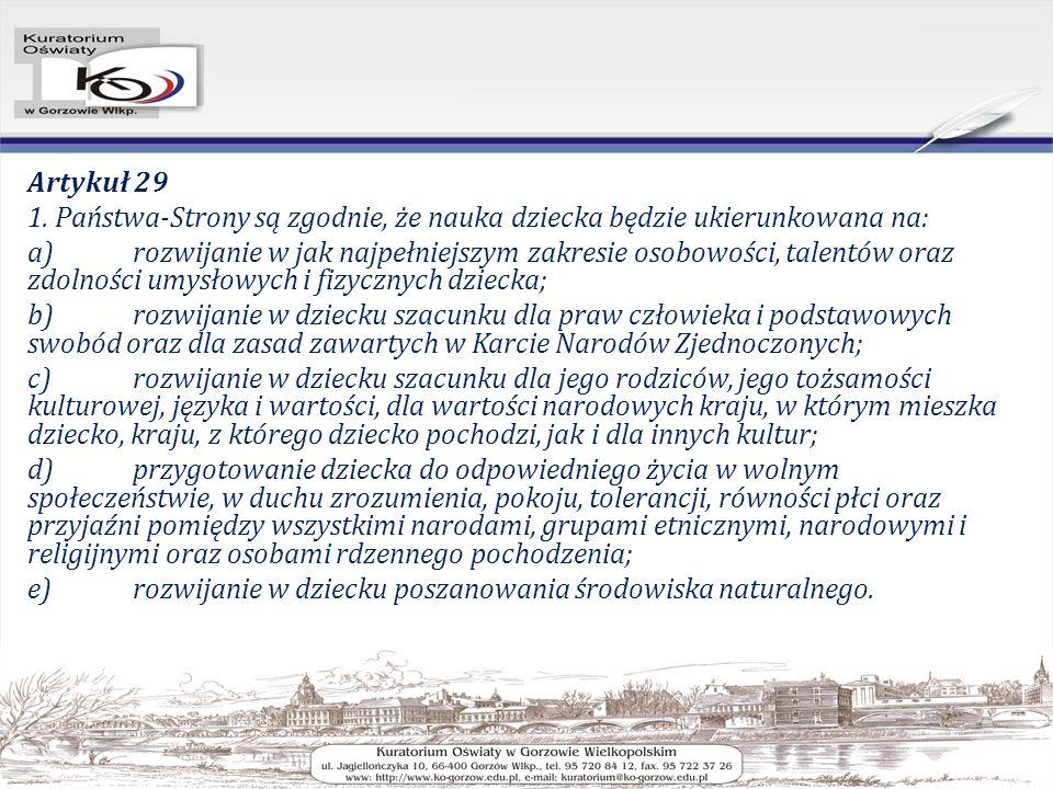 Artykuł 29 1.