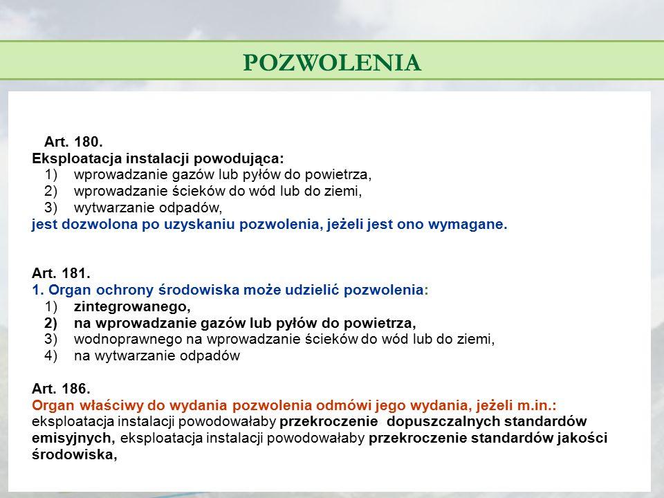 STANDARDY EMISYJNE - LZO § 35.