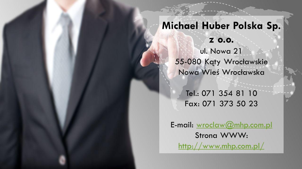 Michael Huber Polska Sp. z o.o. ul.