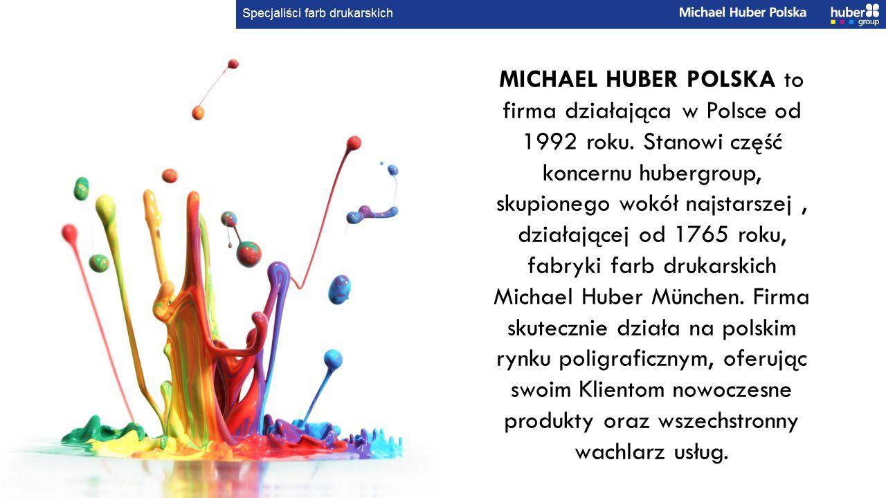 MICHAEL HUBER POLSKA to firma działająca w Polsce od 1992 roku.