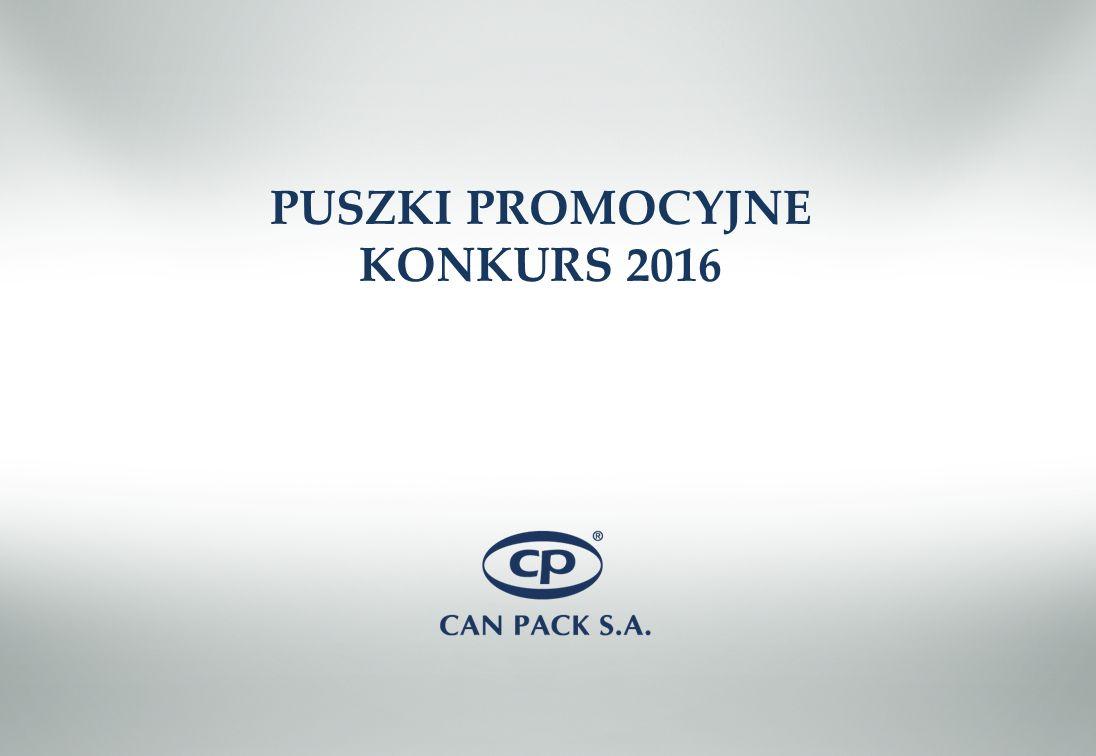 PUSZKI PROMOCYJNE KONKURS 2016