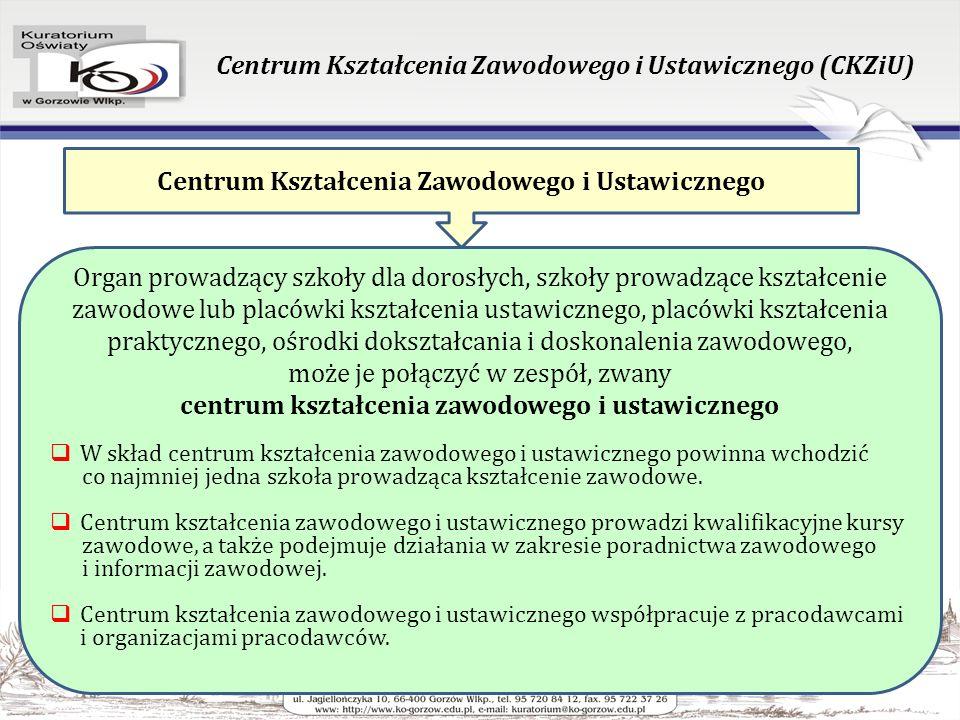 Klasyfikacja zawodów szkolnictwa zawodowego Rozporządzenie Ministra Edukacji Narodowej z dnia 23 grudnia 2011 roku w sprawie klasyfikacji zawodów szkolnictwa zawodowego (Dz.