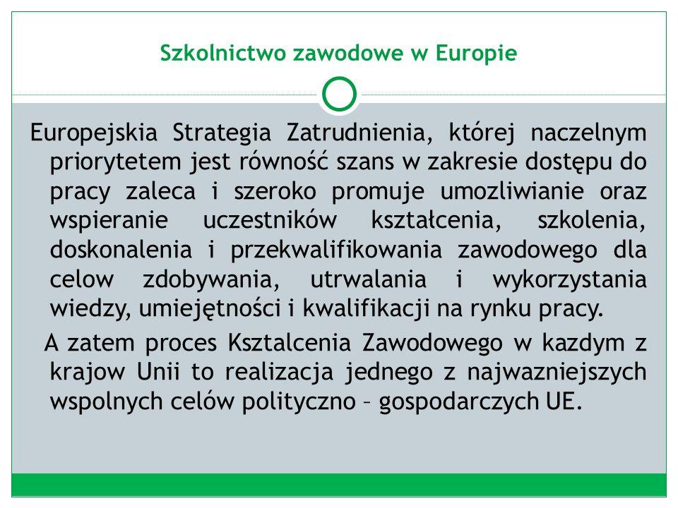 Szkolnictwo zawodowe w Polsce Diagnoza 1989 r.