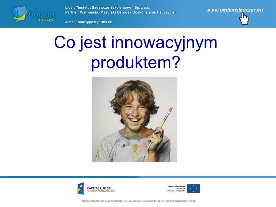 Co jest innowacyjnym produktem