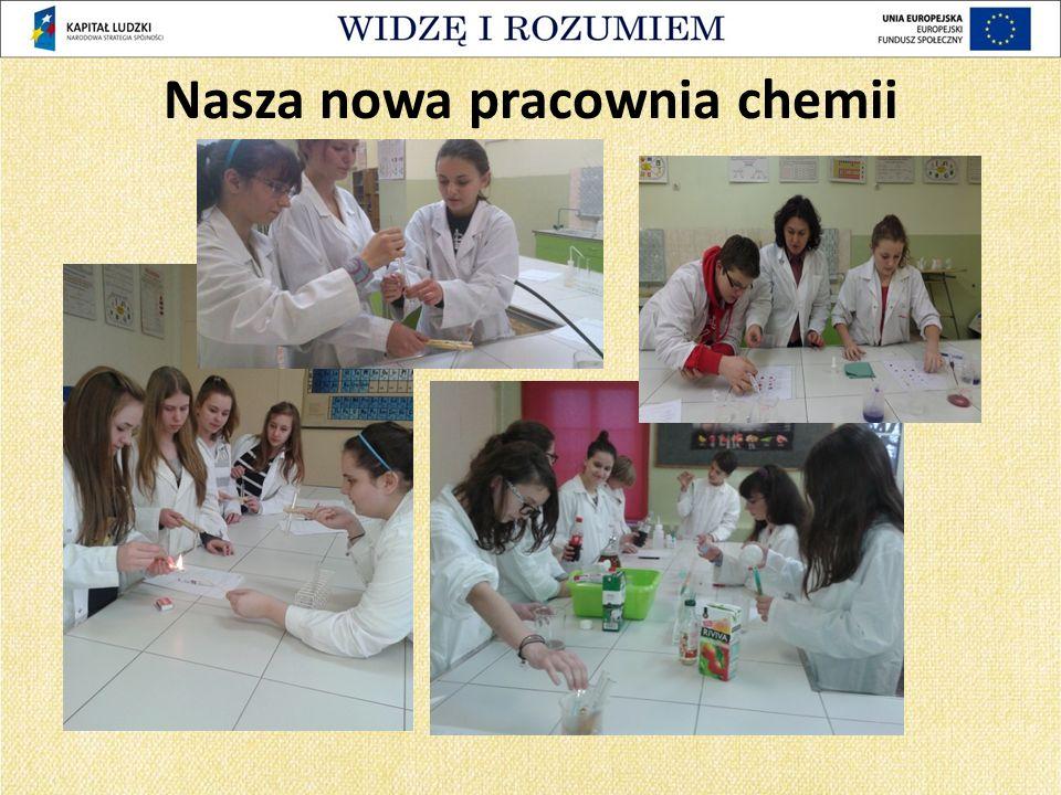 Nasza nowa pracownia chemii
