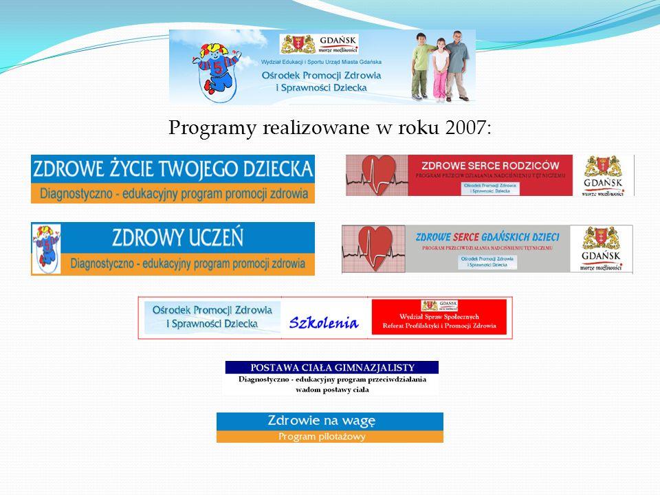  Cel główny programu Określenie dla dziecka indywidualnego, całościowego planu postępowania prozdrowotnego.