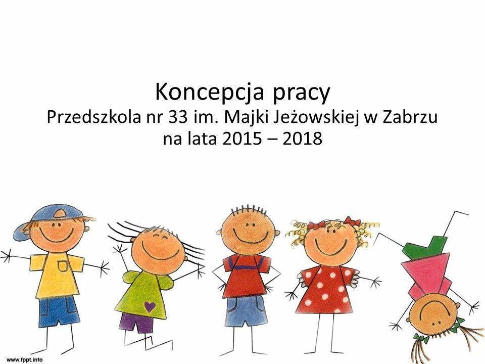 Koncepcja pracy Przedszkola nr 33 im. Majki Jeżowskiej w Zabrzu na lata 2015 – 2018