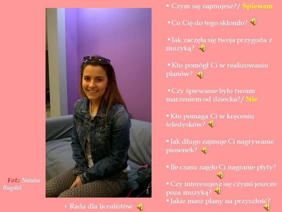 Nagranie- Natalia Bugdol