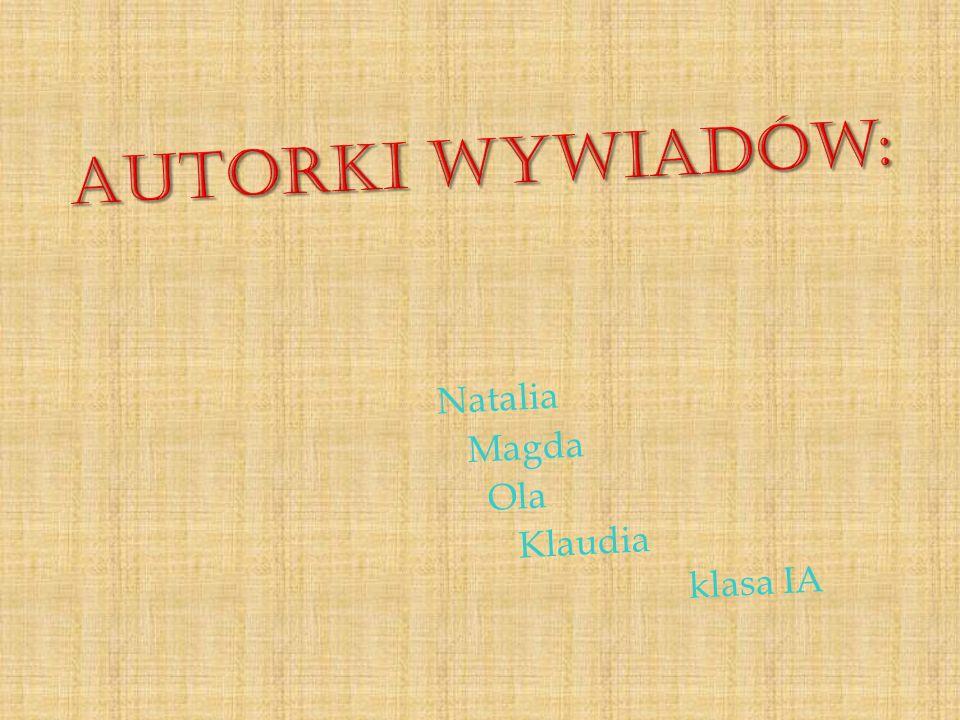 Nagranie – Natalia Bugdol