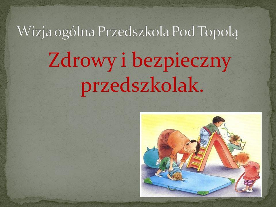 Program ma na celu stworzenie odpowiedniej bazy edukacyjnej dla dzieci 3,4,5,6-cio letnich w zakresie zdrowia i bezpieczeństwa w Przedszkolu pod Topolą.