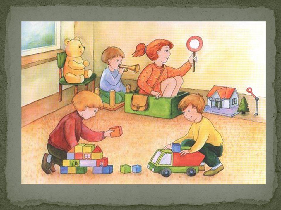 Przedszkolak bezpieczny w szatni i na korytarzu.Przedszkolak bezpieczny na sali.
