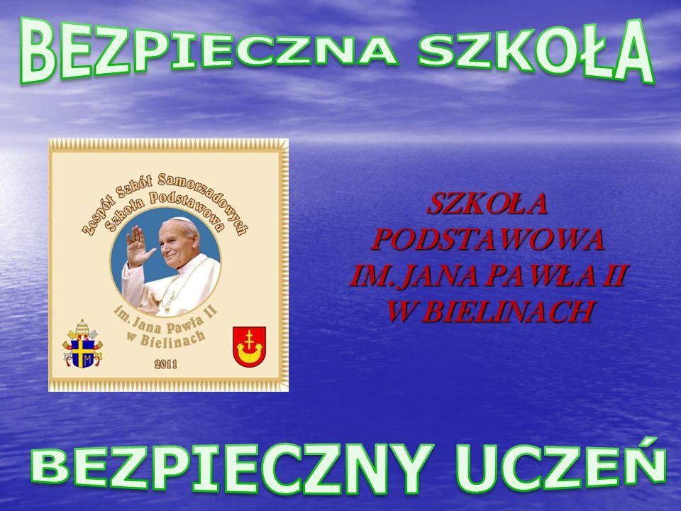 SZKO Ł A PODSTAWOWA IM. JANA PAW Ł A II W BIELINACH