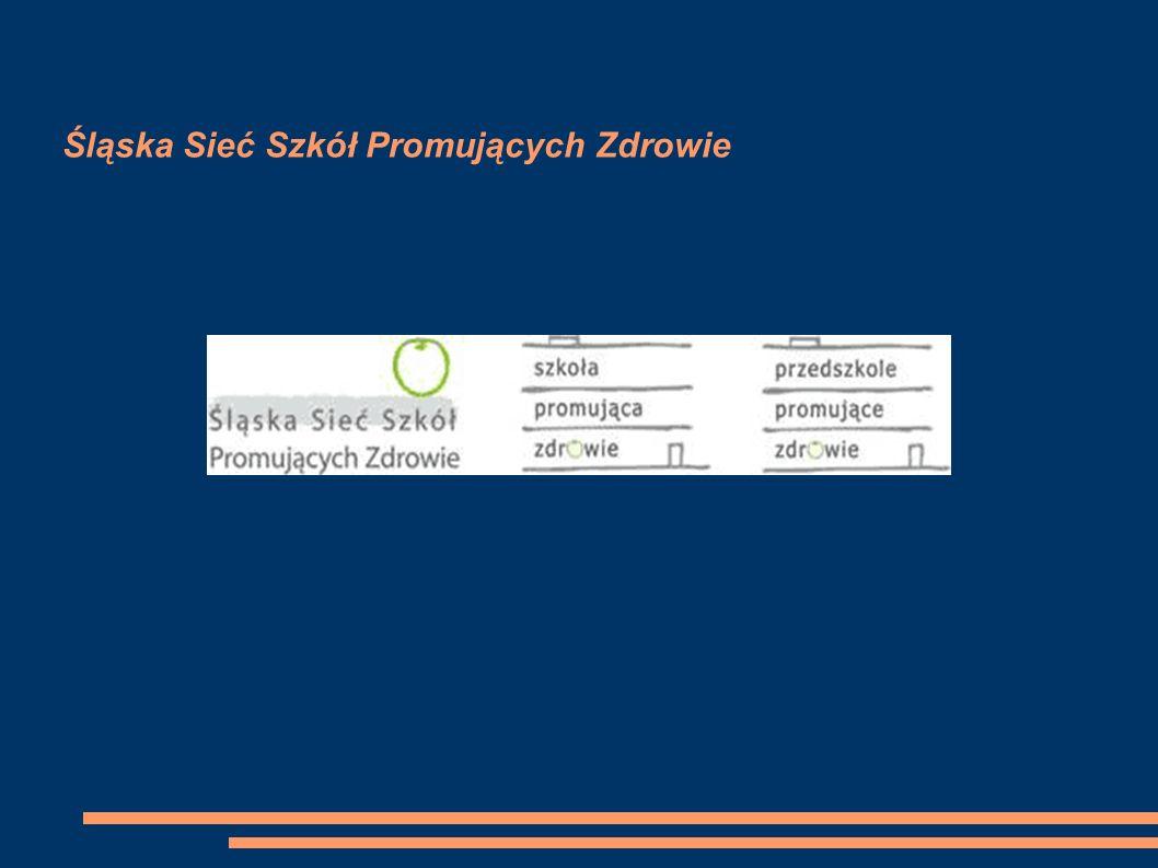 Śląska Sieć Szkół Promujących Zdrowie