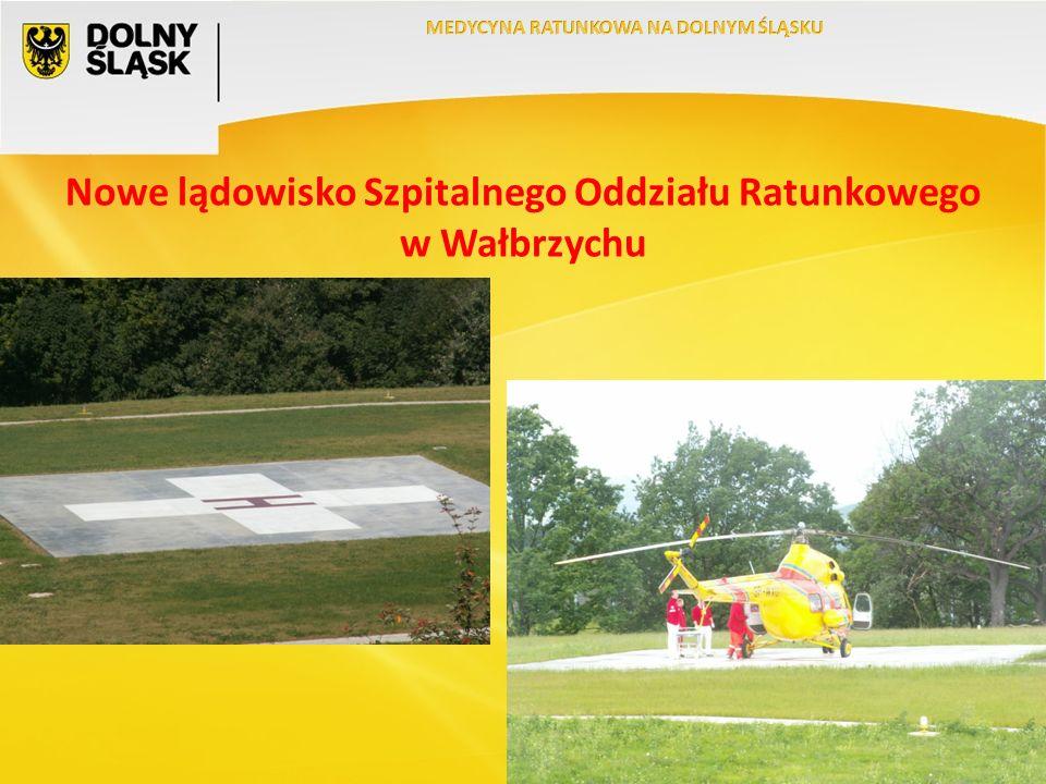 Nowe lądowisko Szpitalnego Oddziału Ratunkowego w Wałbrzychu