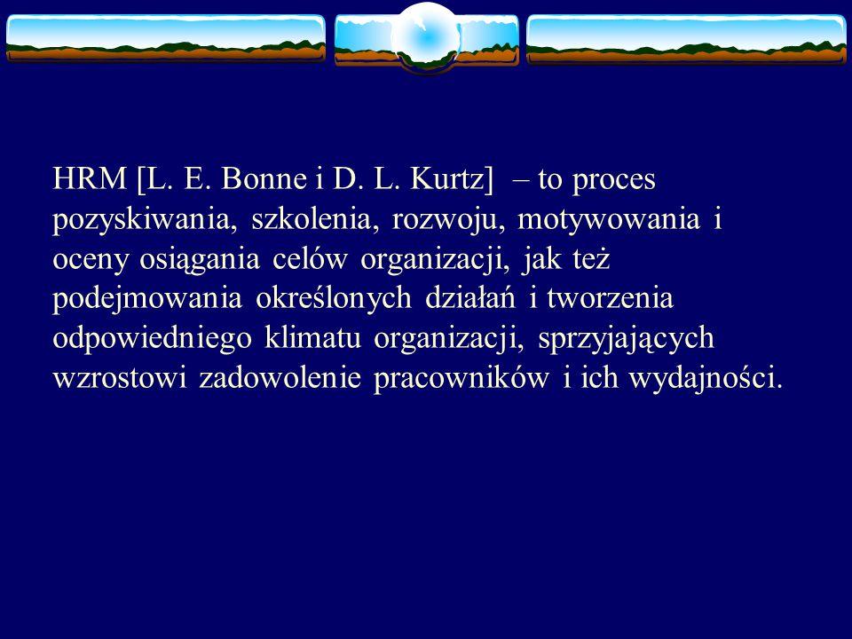 HRM [L. E. Bonne i D. L.