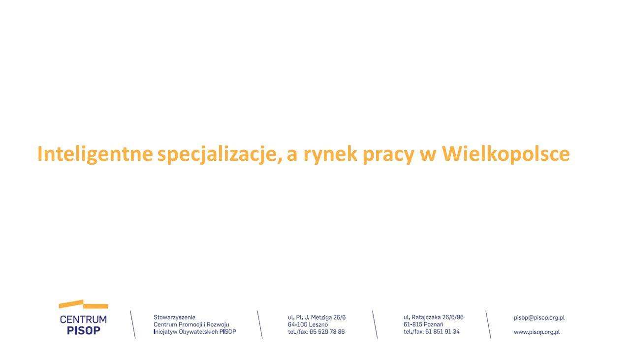 Inteligentne specjalizacje, a rynek pracy w Wielkopolsce
