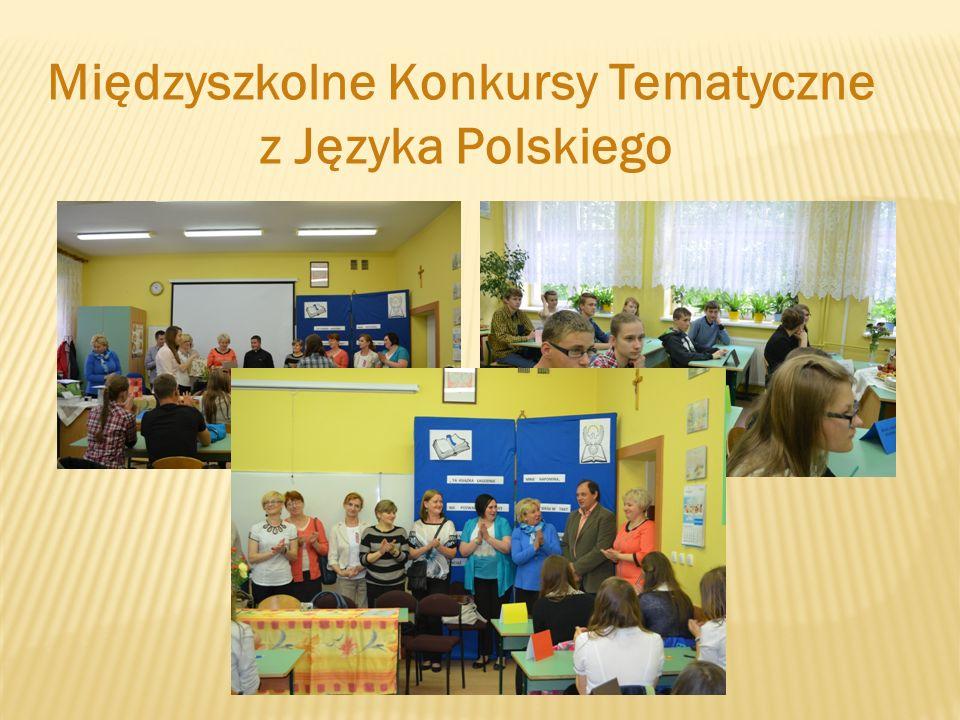 Międzyszkolne Konkursy Tematyczne z Języka Polskiego