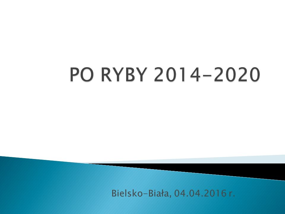 Bielsko-Biała, 04.04.2016 r.