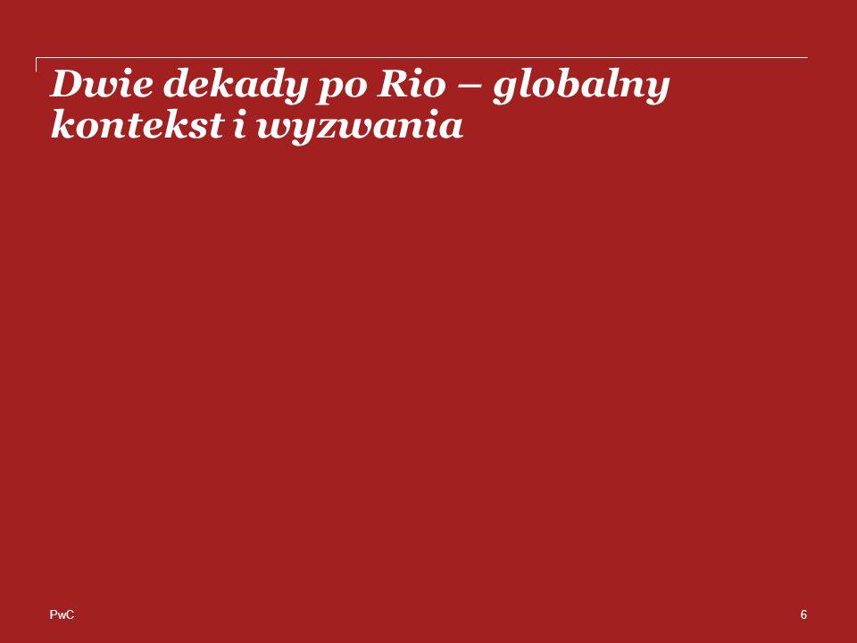 PwC Dwie dekady po Rio – globalny kontekst i wyzwania 6