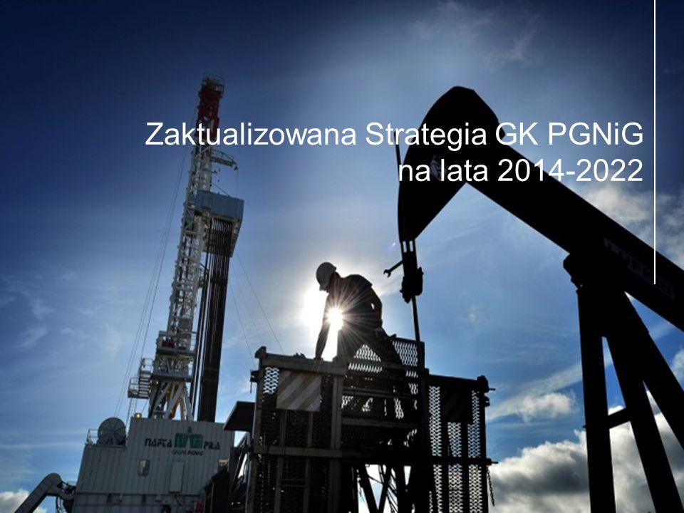 3 Zaktualizowana Strategia GK PGNiG na lata 2014-2022