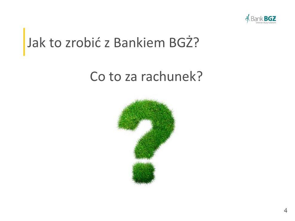 4 Jak to zrobić z Bankiem BGŻ Co to za rachunek