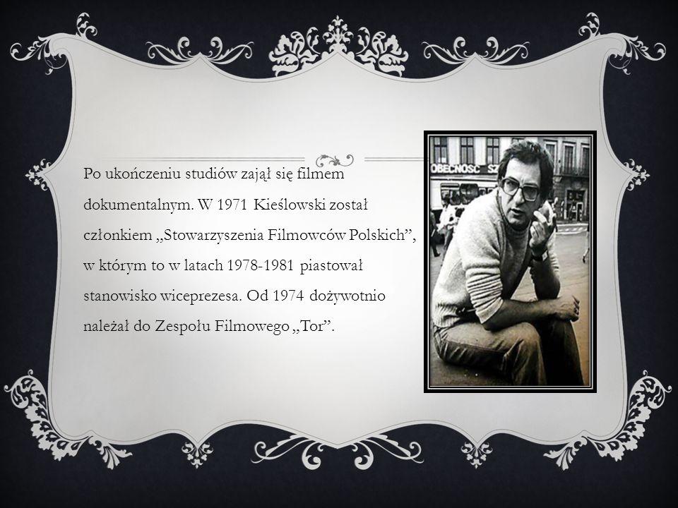 Po ukończeniu studiów zajął się filmem dokumentalnym.