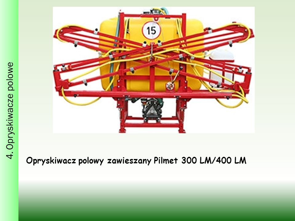 Opryskiwacz polowy zawieszany Pilmet 300 LM/400 LM