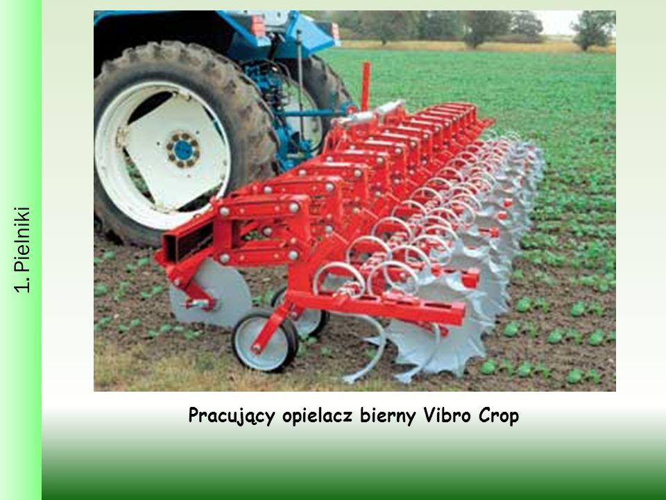 1. Pielniki Pracujący opielacz bierny Vibro Crop