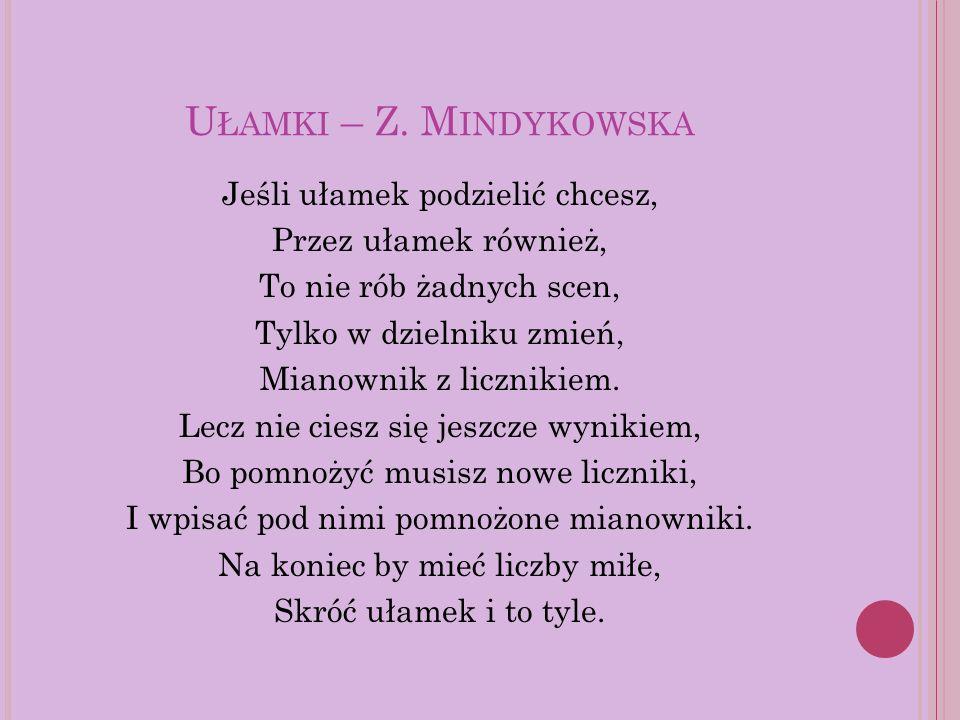 U ŁAMKI – Z.