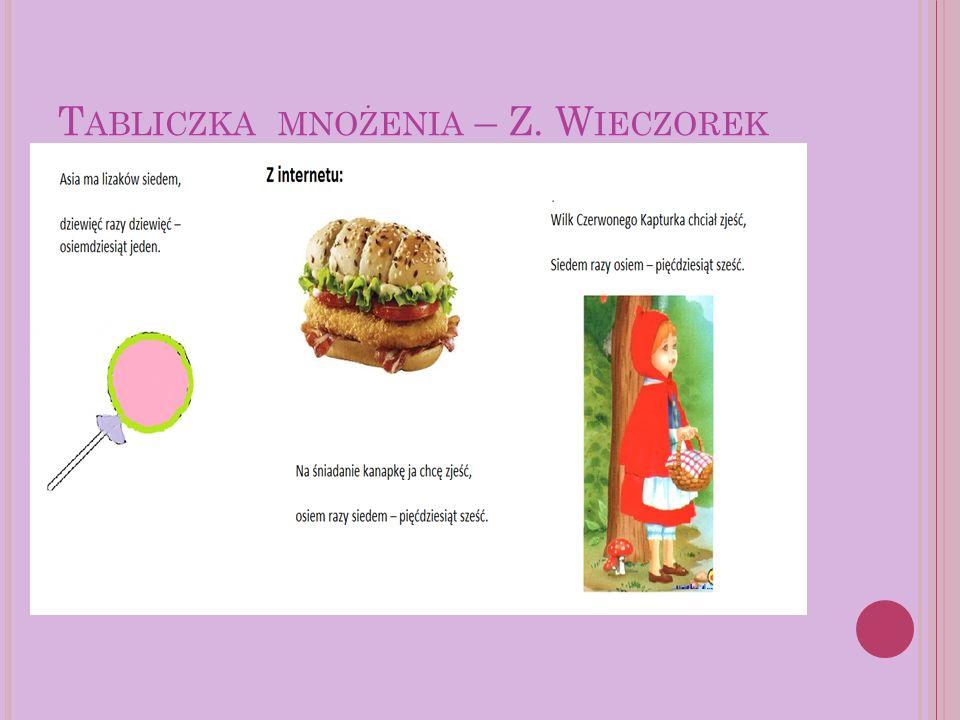 U ŁAMKI – M.K ACZOR 10 całych kawałków sucharka, włożyła do garnka kucharka.