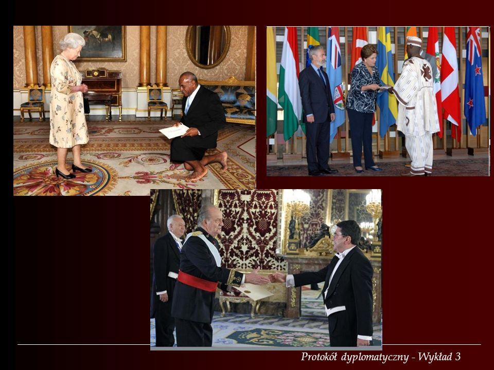 Protokół dyplomatyczny - Wykład 3