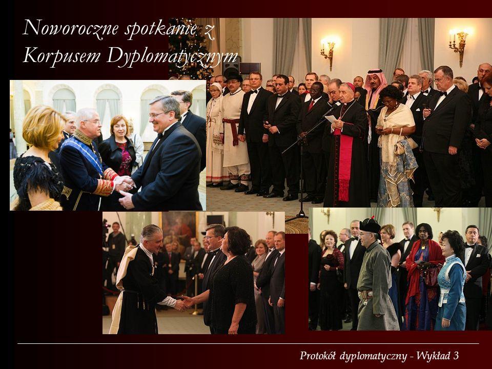 Noworoczne spotkanie z Korpusem Dyplomatycznym