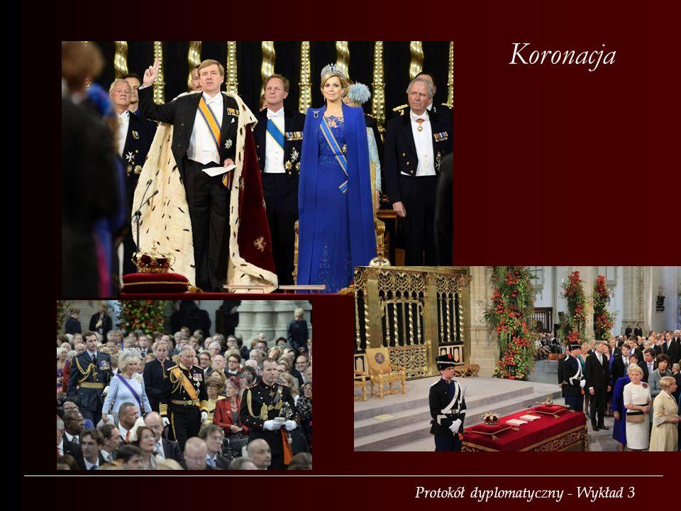 Protokół dyplomatyczny - Wykład 3 Koronacja