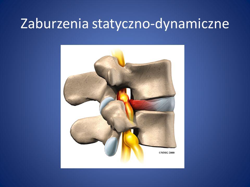 Zaburzenia statyczno-dynamiczne