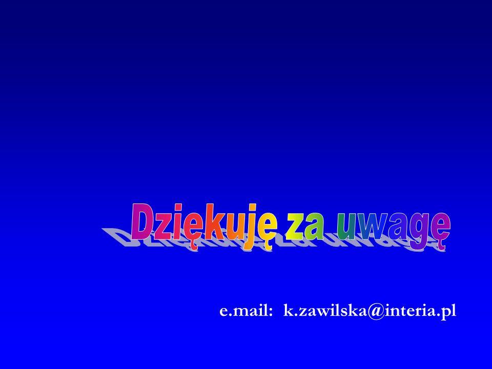 e.mail: k.zawilska@interia.pl