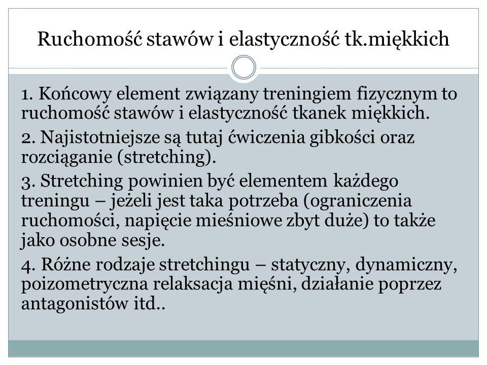 Ruchomość stawów i elastyczność tk.miękkich 1.