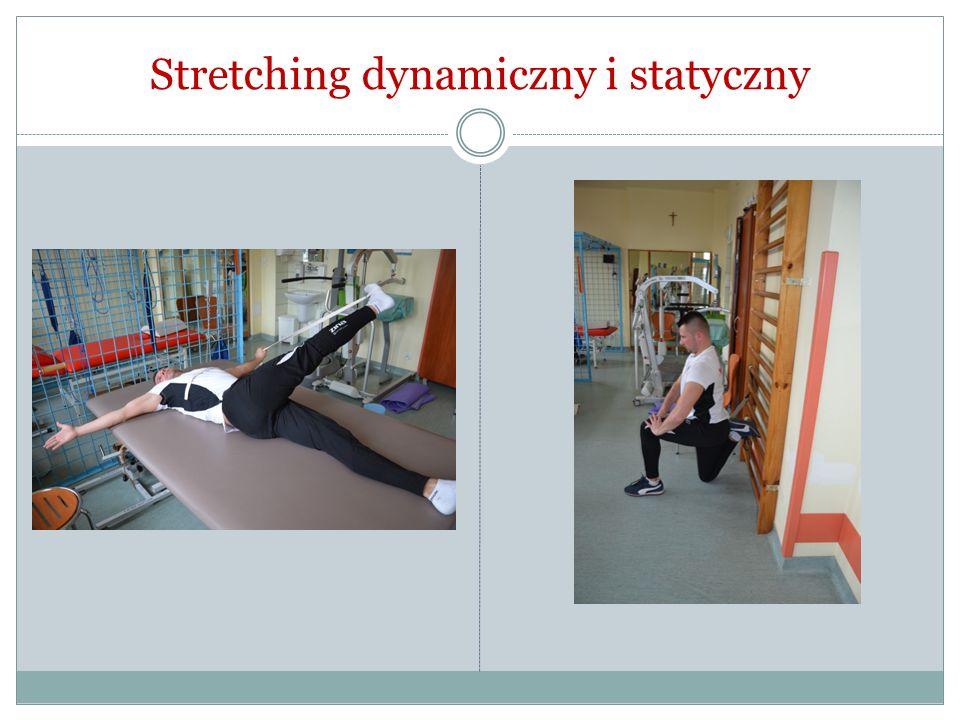 Stretching dynamiczny i statyczny